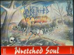 The cover to the Wretched Soul demo tape.