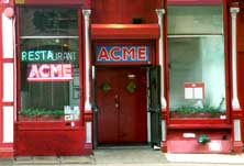 What Under ACME used to look like.  The club itself was inside the doors, to the left, and down stairs.