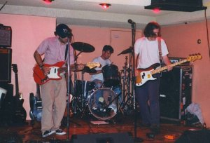 Gapeseed at the nurture release party, 1994