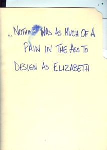 Elizabeth folder
