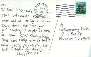 Posies Letter