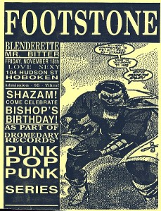 Footstone show